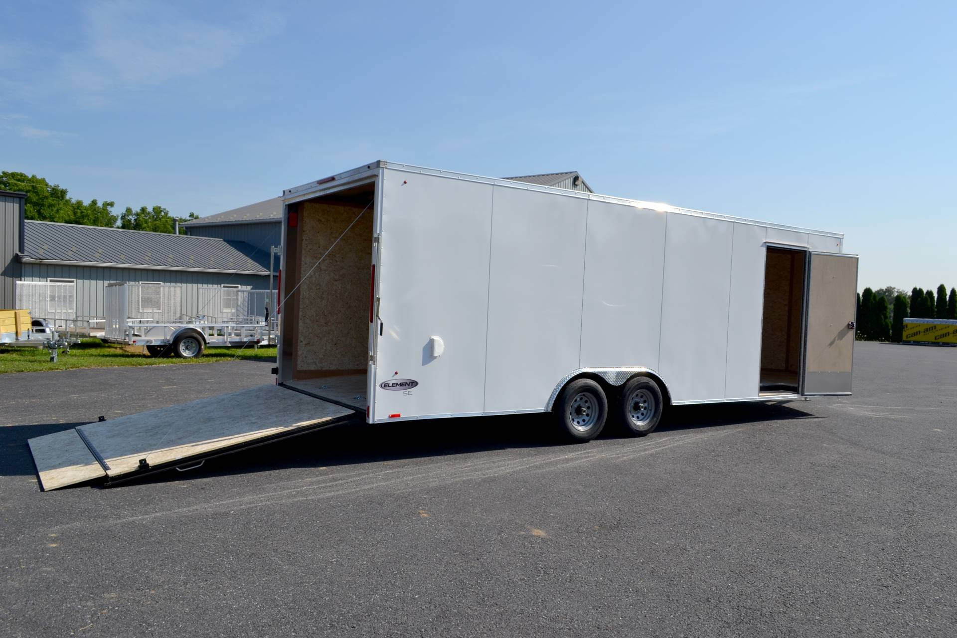 2020 Look Trailers 8.5X24 EWLC Cargo Trailer Ramp ET-10K+6 in Harrisburg, Pennsylvania - Photo 12