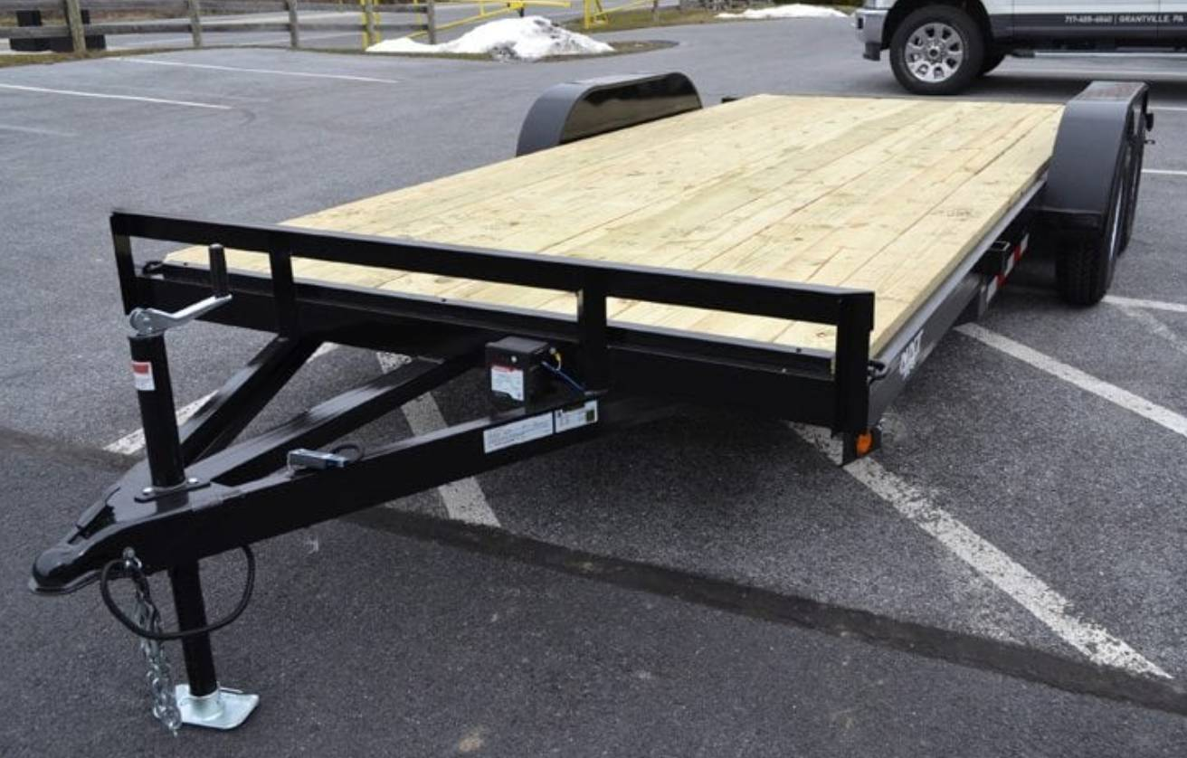 2019 TWF MFG 7X20 NNT Car Hauler Trailer 10K in Harrisburg, Pennsylvania - Photo 1