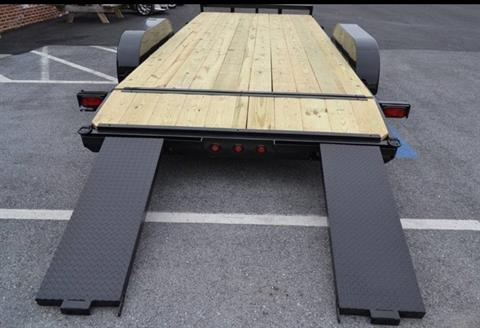 2019 TWF MFG 7X20 NNT Car Hauler Trailer 10K in Harrisburg, Pennsylvania - Photo 5