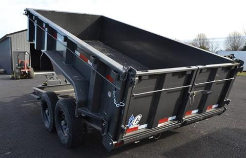 2018 Diamond C 14X82 24LPD Dump Trailer 32HS in Harrisburg, Pennsylvania - Photo 2