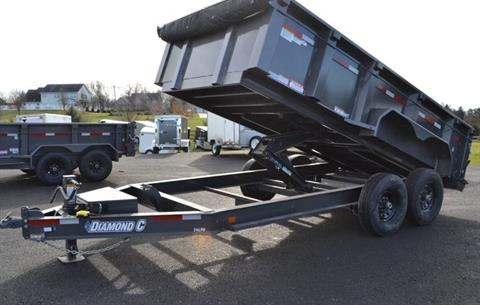 2018 Diamond C 14X82 24LPD Dump Trailer 32HS in Harrisburg, Pennsylvania - Photo 4
