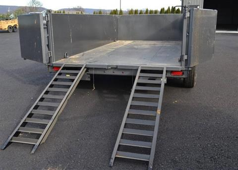 2018 Diamond C 14X82 24LPD Dump Trailer 32HS in Harrisburg, Pennsylvania - Photo 5