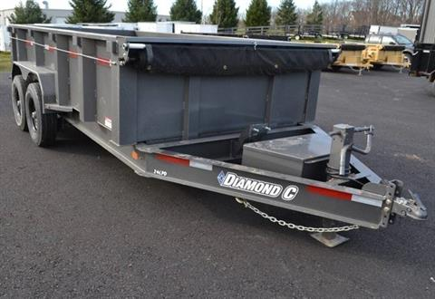 2018 Diamond C 14X82 24LPD Dump Trailer 32HS in Harrisburg, Pennsylvania - Photo 1