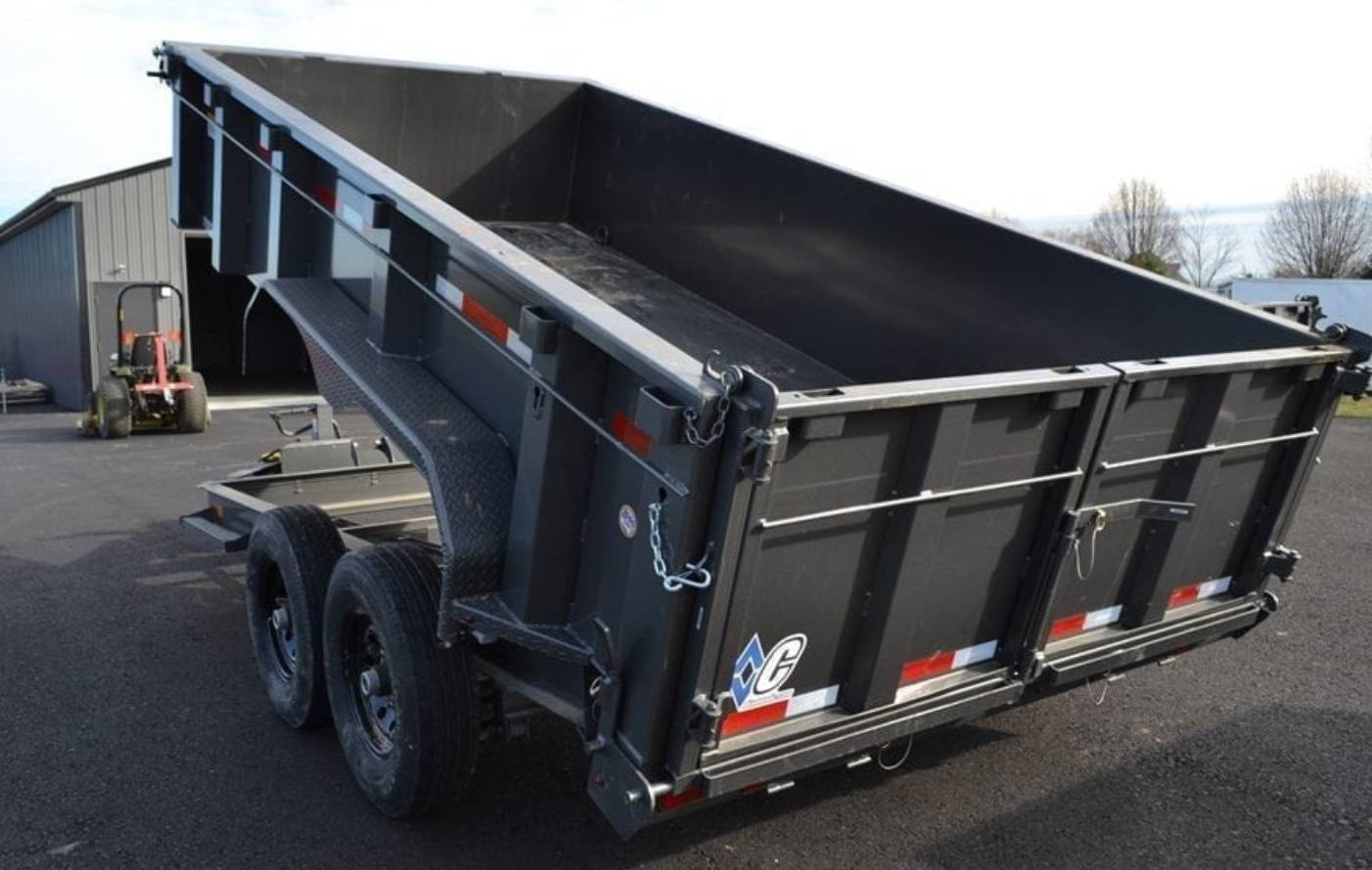 2018 Diamond C 14X82 24LPD Dump Trailer 32HS in Harrisburg, Pennsylvania - Photo 11