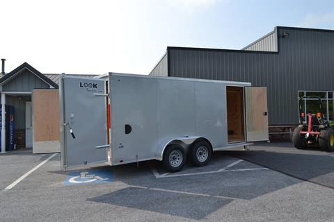 2020 Look Trailers 7X16 STDLX Cargo Trailer Double Door in Harrisburg, Pennsylvania - Photo 10