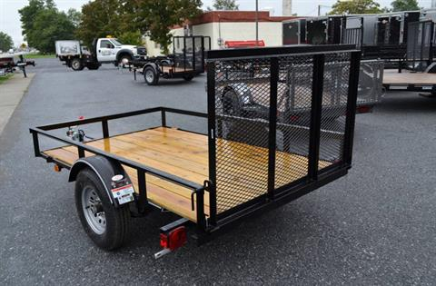 2018 Diamond C 5X8 RLR Utility Trailer in Harrisburg, Pennsylvania - Photo 4