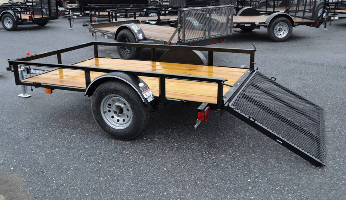 2018 Diamond C 5X8 RLR Utility Trailer in Harrisburg, Pennsylvania - Photo 5