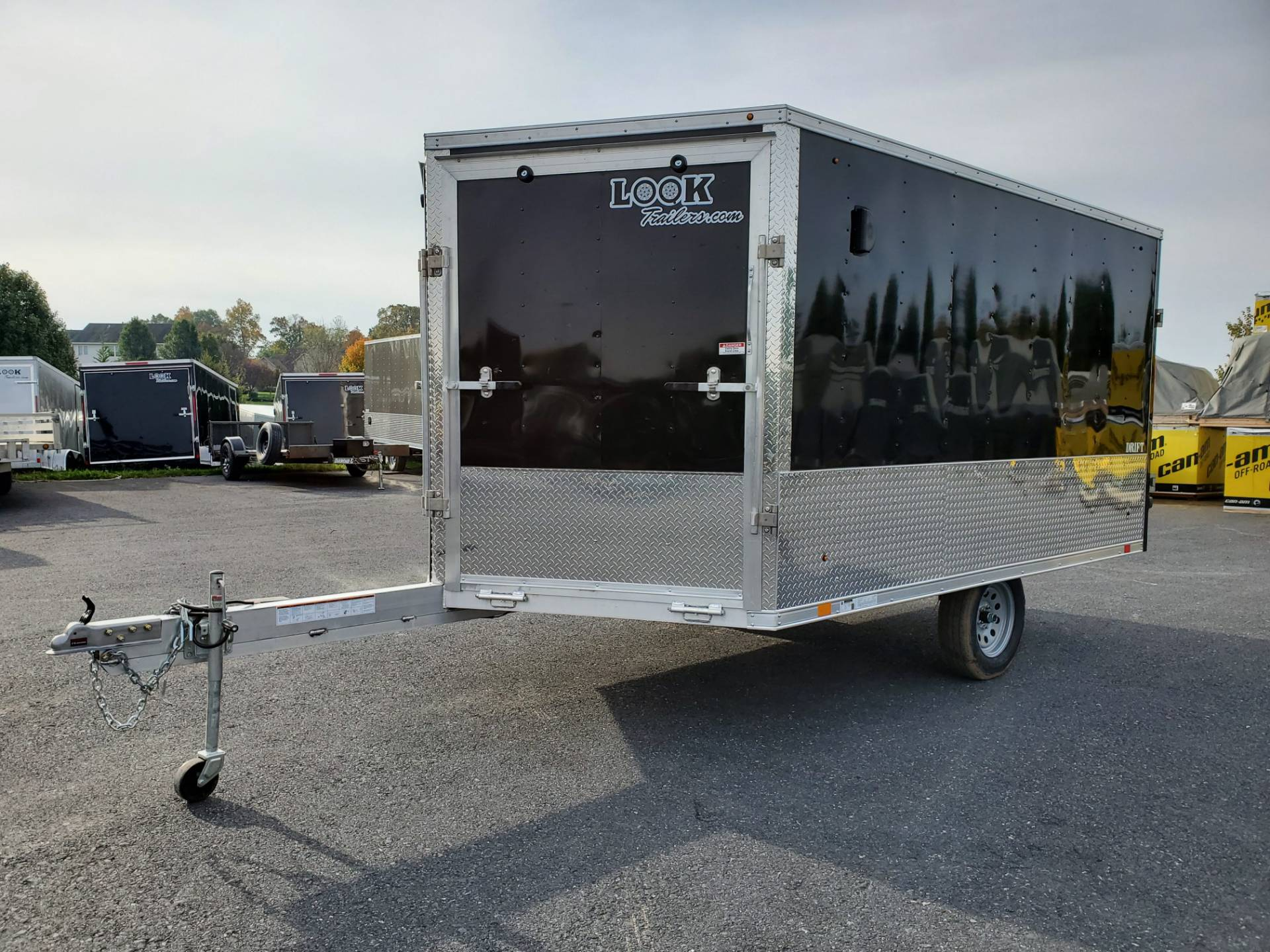 2020 Look Trailers 8.5X12+6 LASJA Drift Aluminum Enclosed Snowmobile Trailer 3.5K in Harrisburg, Pennsylvania - Photo 1