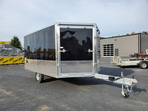2020 Look Trailers 8.5X12+6 LASJA Drift Aluminum Enclosed Snowmobile Trailer 3.5K in Harrisburg, Pennsylvania - Photo 3