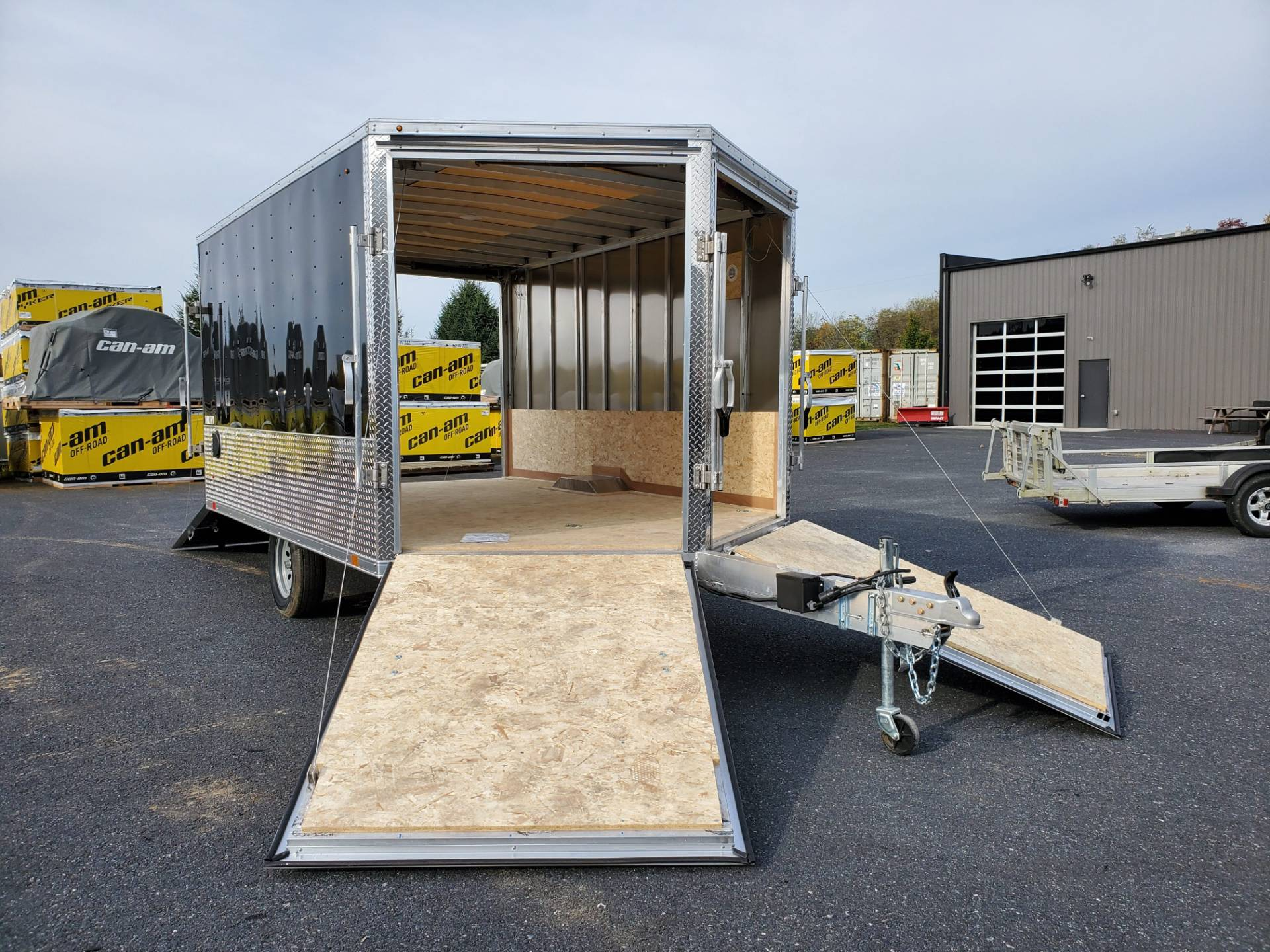 2020 Look Trailers 8.5X12+6 LASJA Drift Aluminum Enclosed Snowmobile Trailer 3.5K in Harrisburg, Pennsylvania - Photo 11