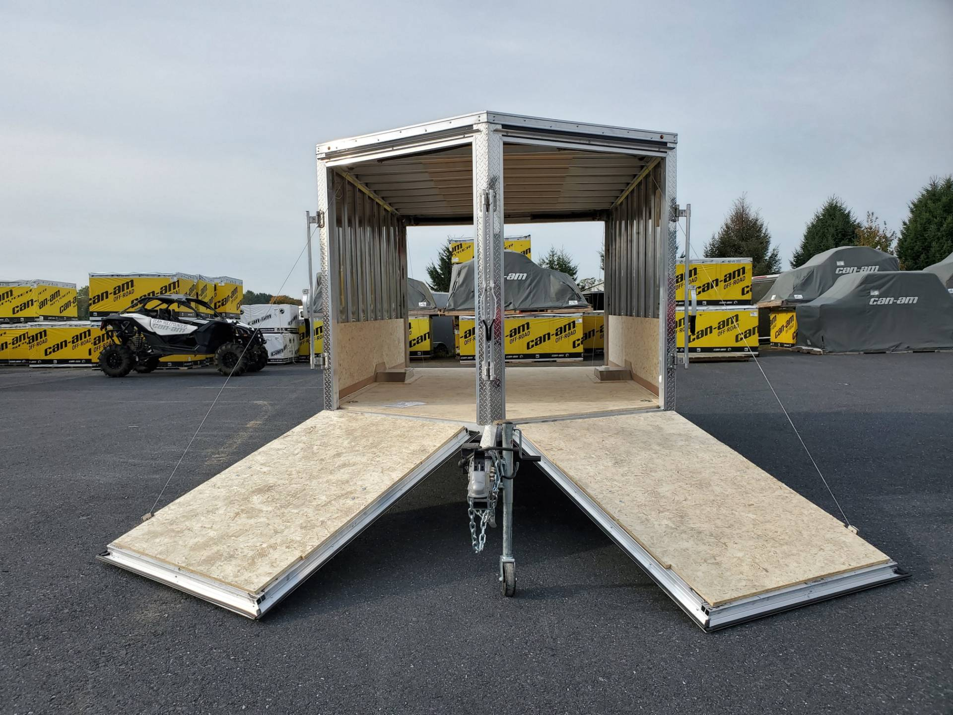 2020 Look Trailers 8.5X12+6 LASJA Drift Aluminum Enclosed Snowmobile Trailer 3.5K in Harrisburg, Pennsylvania - Photo 12