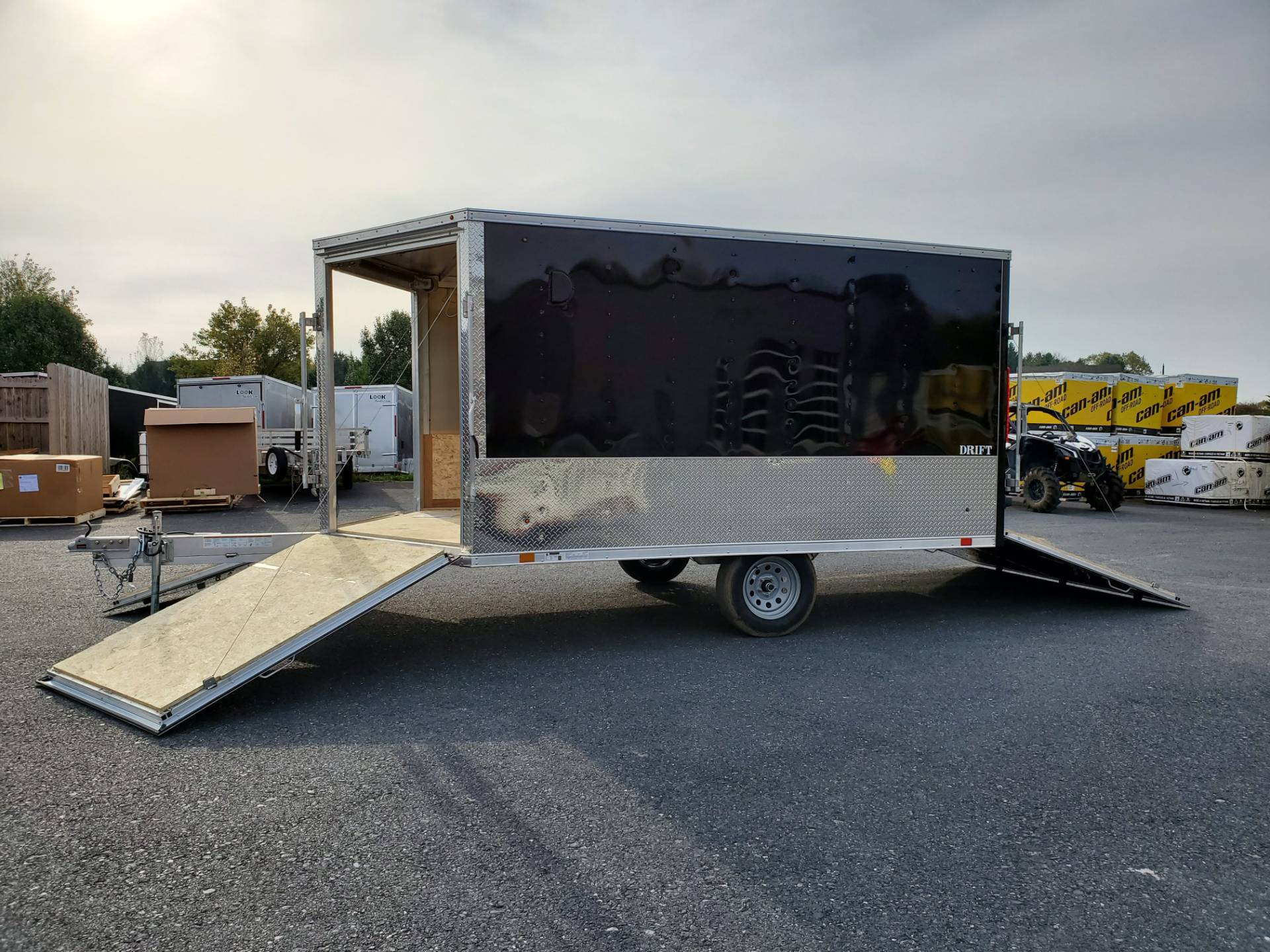 2020 Look Trailers 8.5X12+6 LASJA Drift Aluminum Enclosed Snowmobile Trailer 3.5K in Harrisburg, Pennsylvania - Photo 13