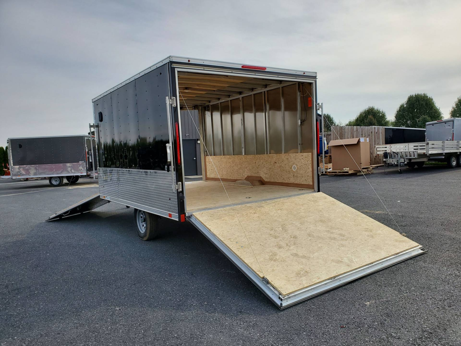 2020 Look Trailers 8.5X12+6 LASJA Drift Aluminum Enclosed Snowmobile Trailer 3.5K in Harrisburg, Pennsylvania - Photo 14