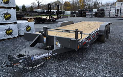 2019 Diamond C 20X82 45HDT Equipment Trailer in Harrisburg, Pennsylvania