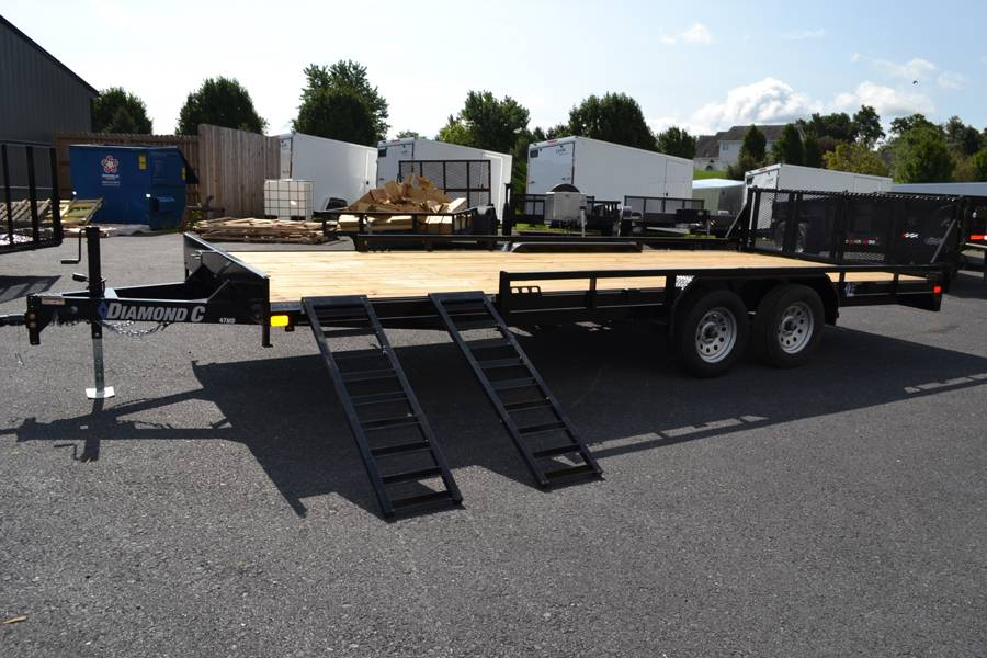 2018 Diamond C 16X98 47MD ATV Utility Trailer in Harrisburg, Pennsylvania - Photo 2