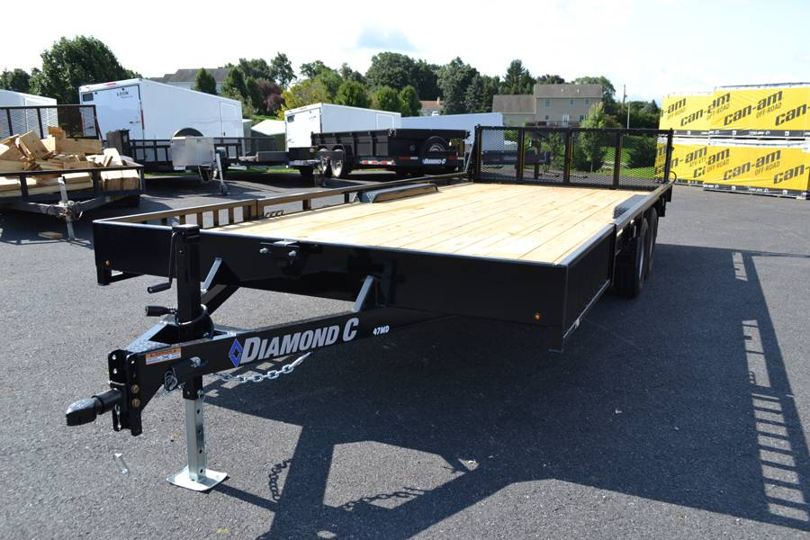 2018 Diamond C 16X98 47MD ATV Utility Trailer in Harrisburg, Pennsylvania - Photo 1
