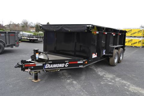 2018 Diamond C 14X82 24LPD Dump Trailer 44HS* in Harrisburg, Pennsylvania - Photo 1