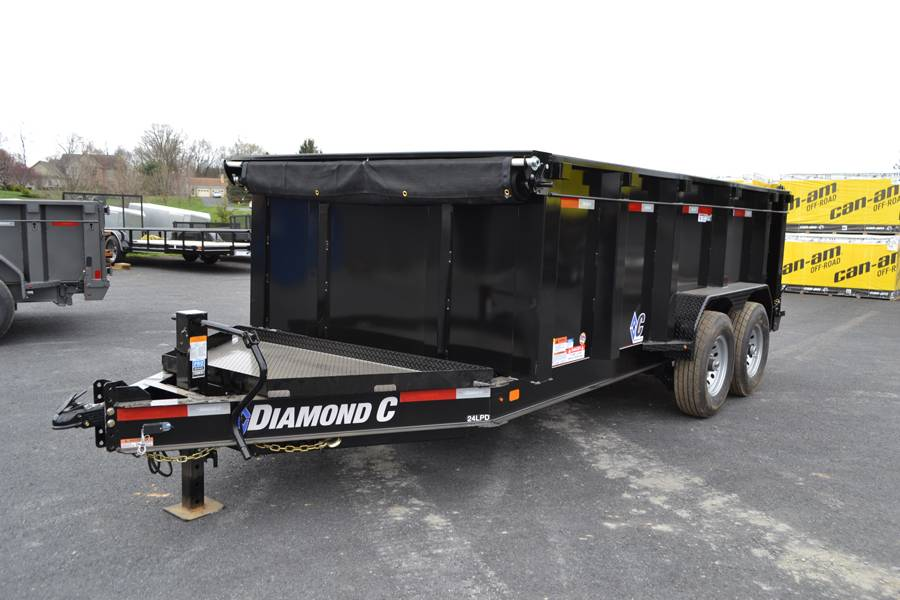 2018 Diamond C 14X82 24LPD Dump Trailer 44HS* in Harrisburg, Pennsylvania - Photo 2