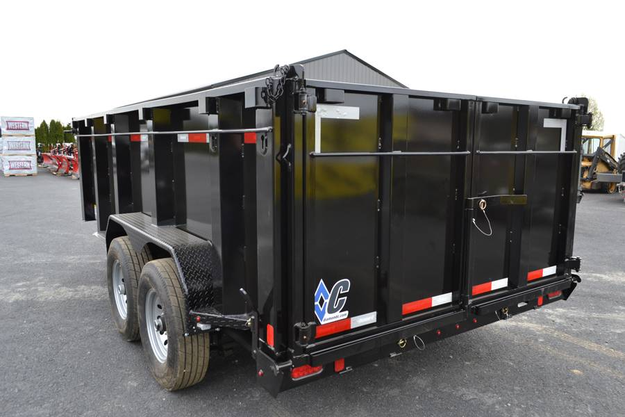 2018 Diamond C 14X82 24LPD Dump Trailer 44HS* in Harrisburg, Pennsylvania - Photo 8