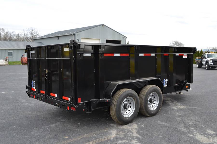 2018 Diamond C 14X82 24LPD Dump Trailer 44HS* in Harrisburg, Pennsylvania - Photo 10