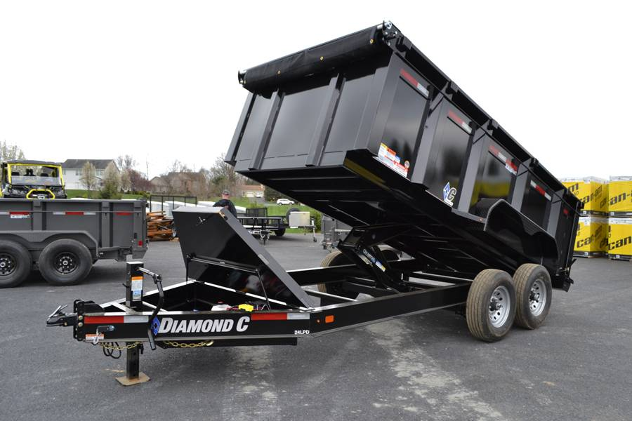 2018 Diamond C 14X82 24LPD Dump Trailer 44HS* in Harrisburg, Pennsylvania - Photo 16