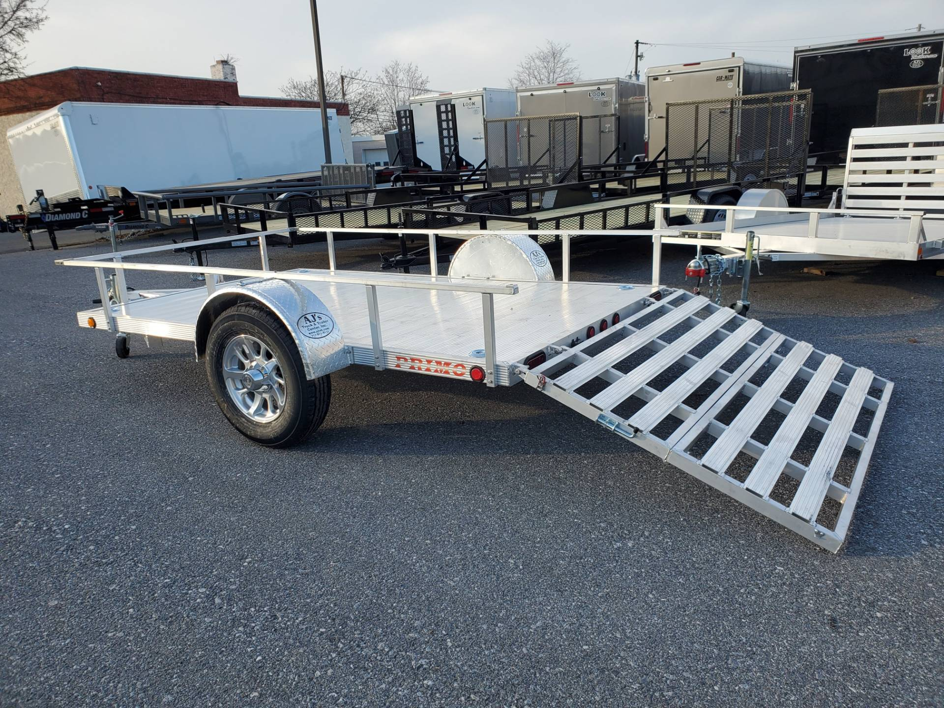2021 Primo 72x10 Single Axle Utility in Harrisburg, Pennsylvania - Photo 10