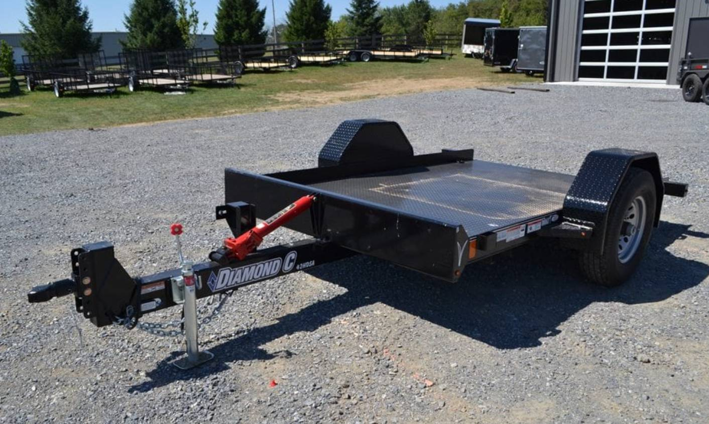 2019 Diamond C 10X77 DSA Equipment Trailer 7K in Harrisburg, Pennsylvania - Photo 1