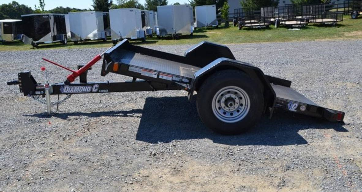2019 Diamond C 10X77 DSA Equipment Trailer 7K in Harrisburg, Pennsylvania - Photo 2