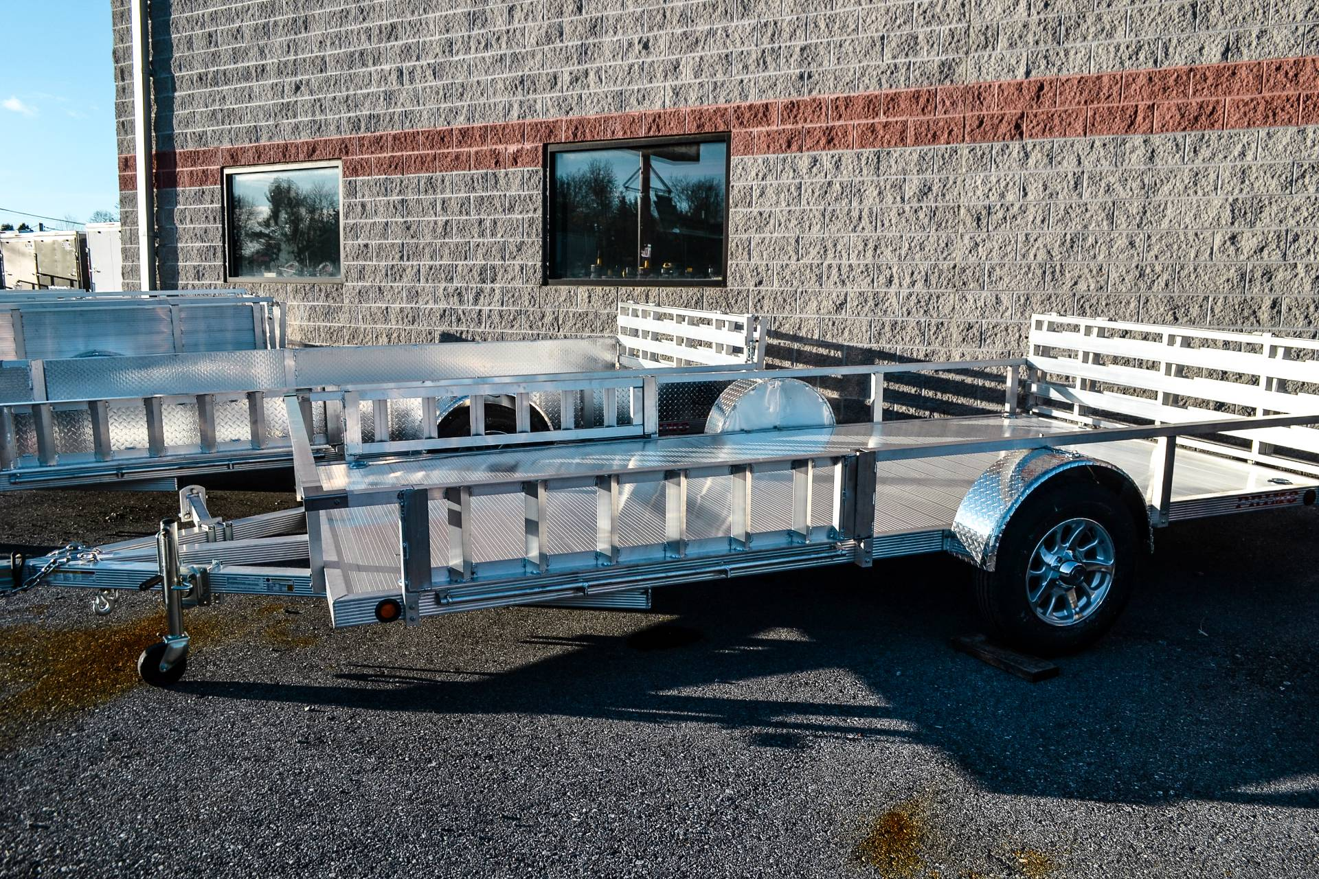 2021 Primo 82x14 Single Axle ATV – Side Load ATV Ramps in Harrisburg, Pennsylvania - Photo 2