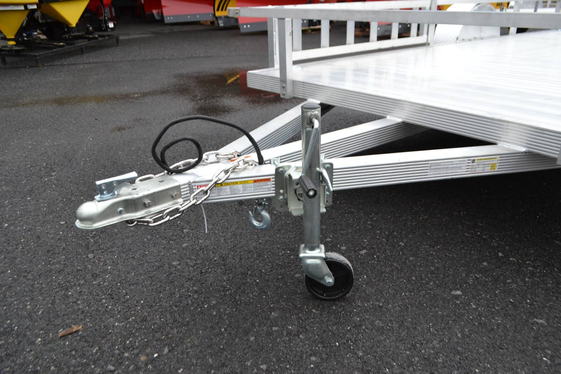 2021 Primo 82x14 Single Axle ATV – Side Load ATV Ramps in Harrisburg, Pennsylvania - Photo 7