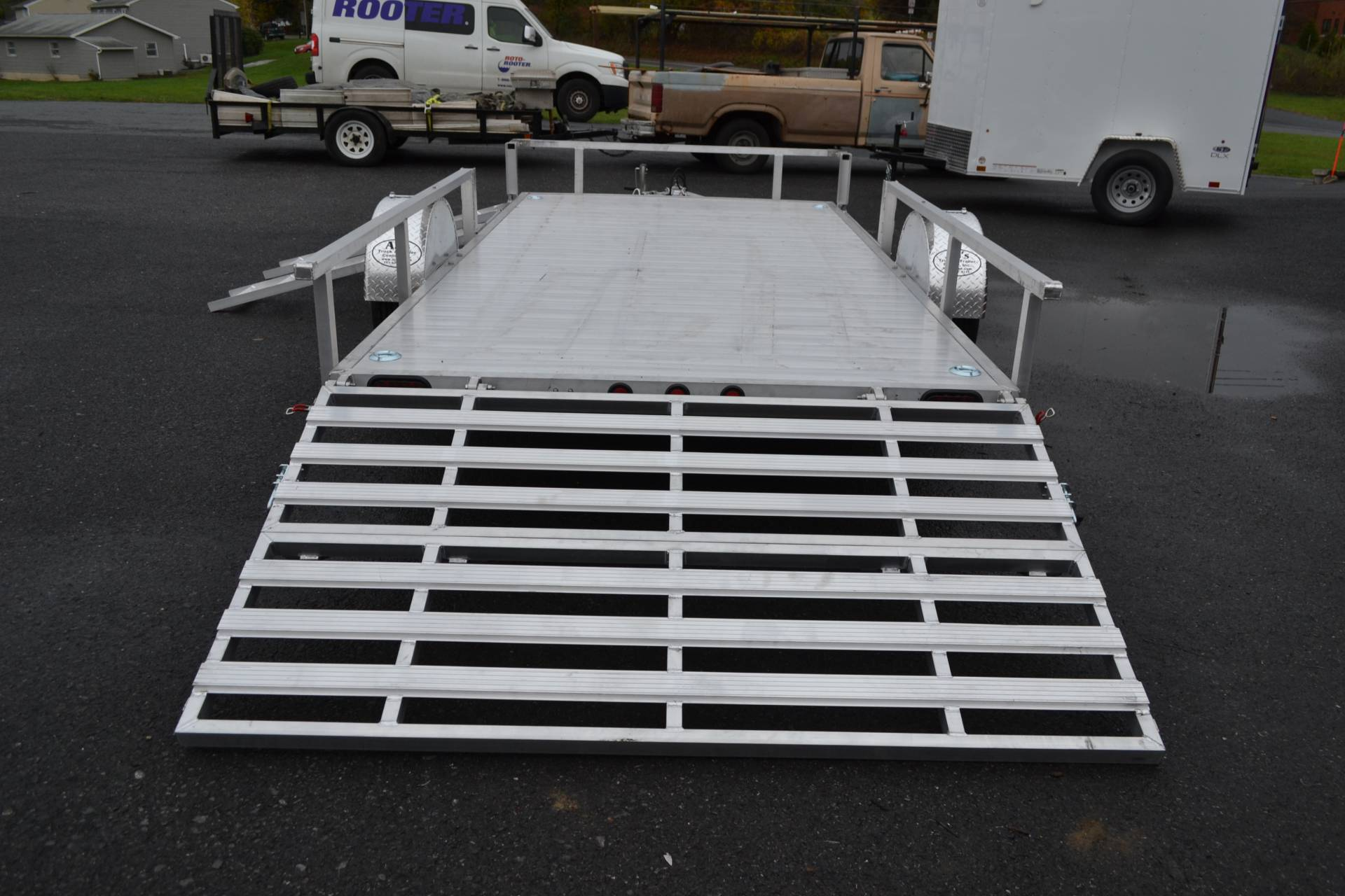 2021 Primo 82x14 Single Axle ATV – Side Load ATV Ramps in Harrisburg, Pennsylvania - Photo 11