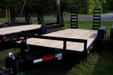 2020 TWF MFG 7X18 NNT Equipment Trailer 10K LED in Harrisburg, Pennsylvania