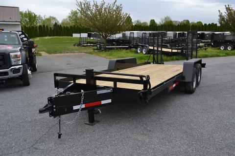 2020 TWF MFG 7X18 NNT Equipment Trailer 10K LED in Harrisburg, Pennsylvania - Photo 1