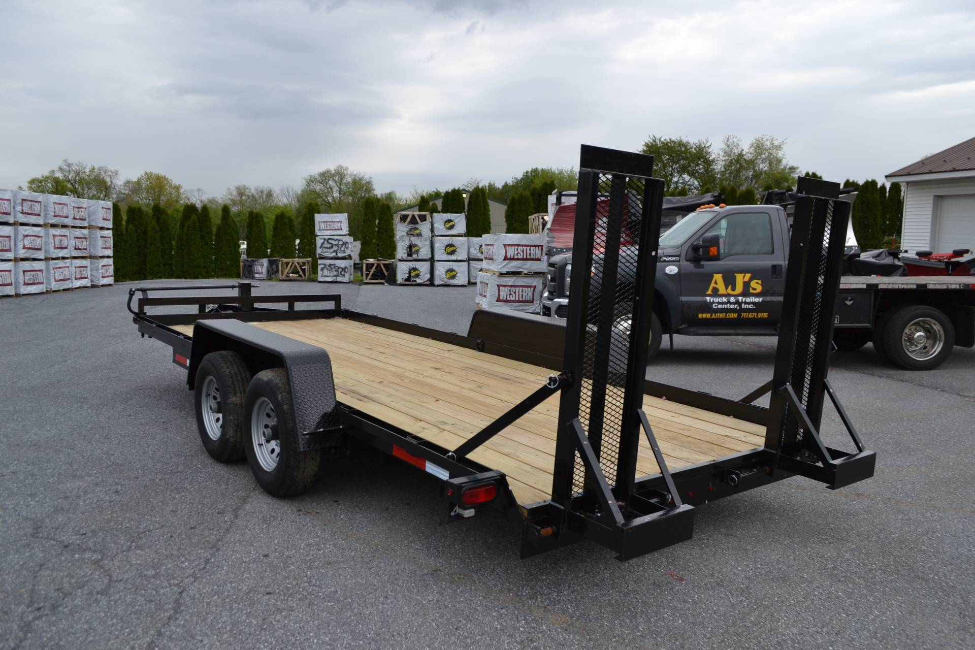 2020 TWF MFG 7X18 NNT Equipment Trailer 10K LED in Harrisburg, Pennsylvania - Photo 6