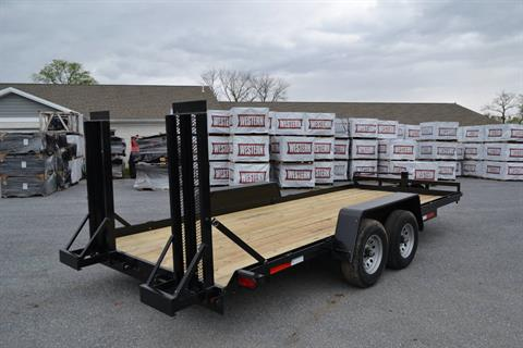 2020 TWF MFG 7X18 NNT Equipment Trailer 10K LED in Harrisburg, Pennsylvania - Photo 7