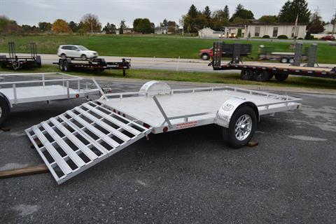2021 Primo 82x12 Single Axle Utility Low Profile Tube Rail in Harrisburg, Pennsylvania - Photo 10
