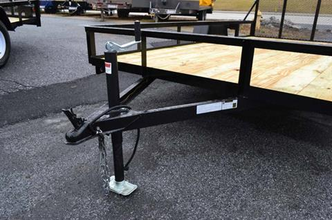 2021 TWF MFG 12X76 NNT Utility Trailer LED in Harrisburg, Pennsylvania - Photo 2
