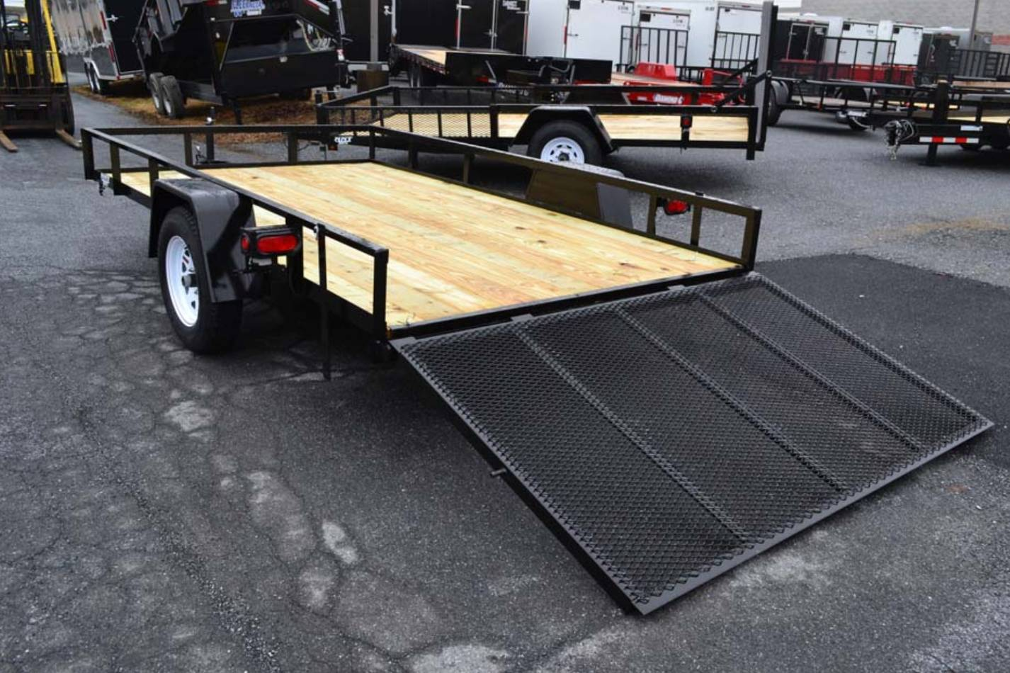 2021 TWF MFG 12X76 NNT Utility Trailer LED in Harrisburg, Pennsylvania - Photo 3