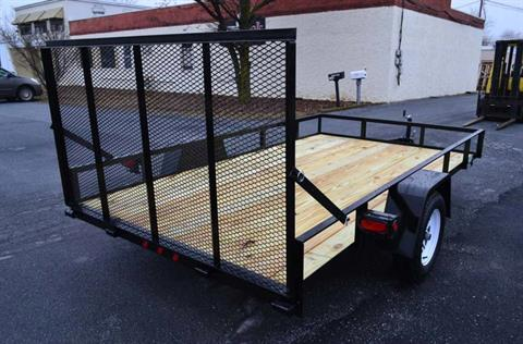 2021 TWF MFG 12X76 NNT Utility Trailer LED in Harrisburg, Pennsylvania - Photo 4