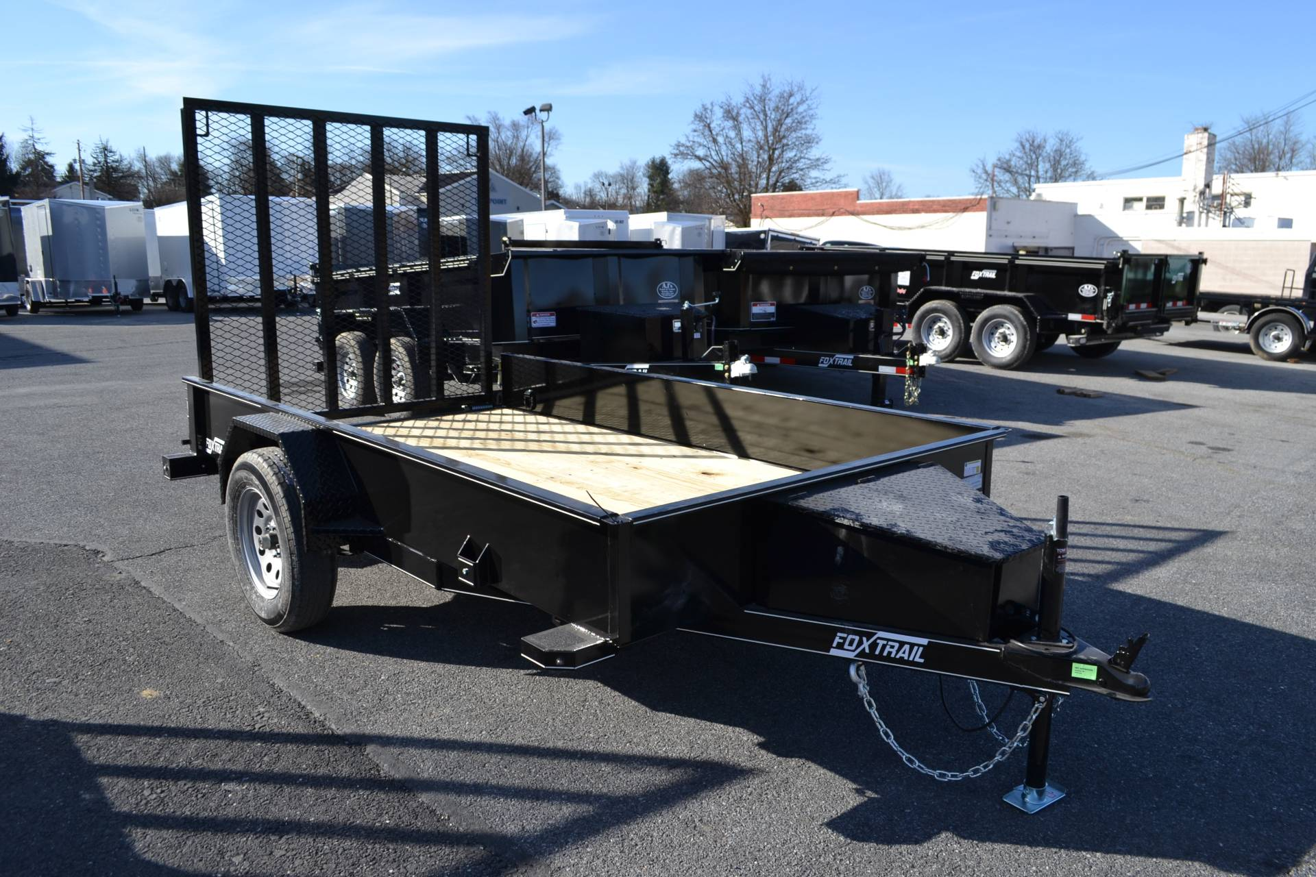 2021 Fox Trail 5.5x10 Utility Trailer SS in Harrisburg, Pennsylvania - Photo 1