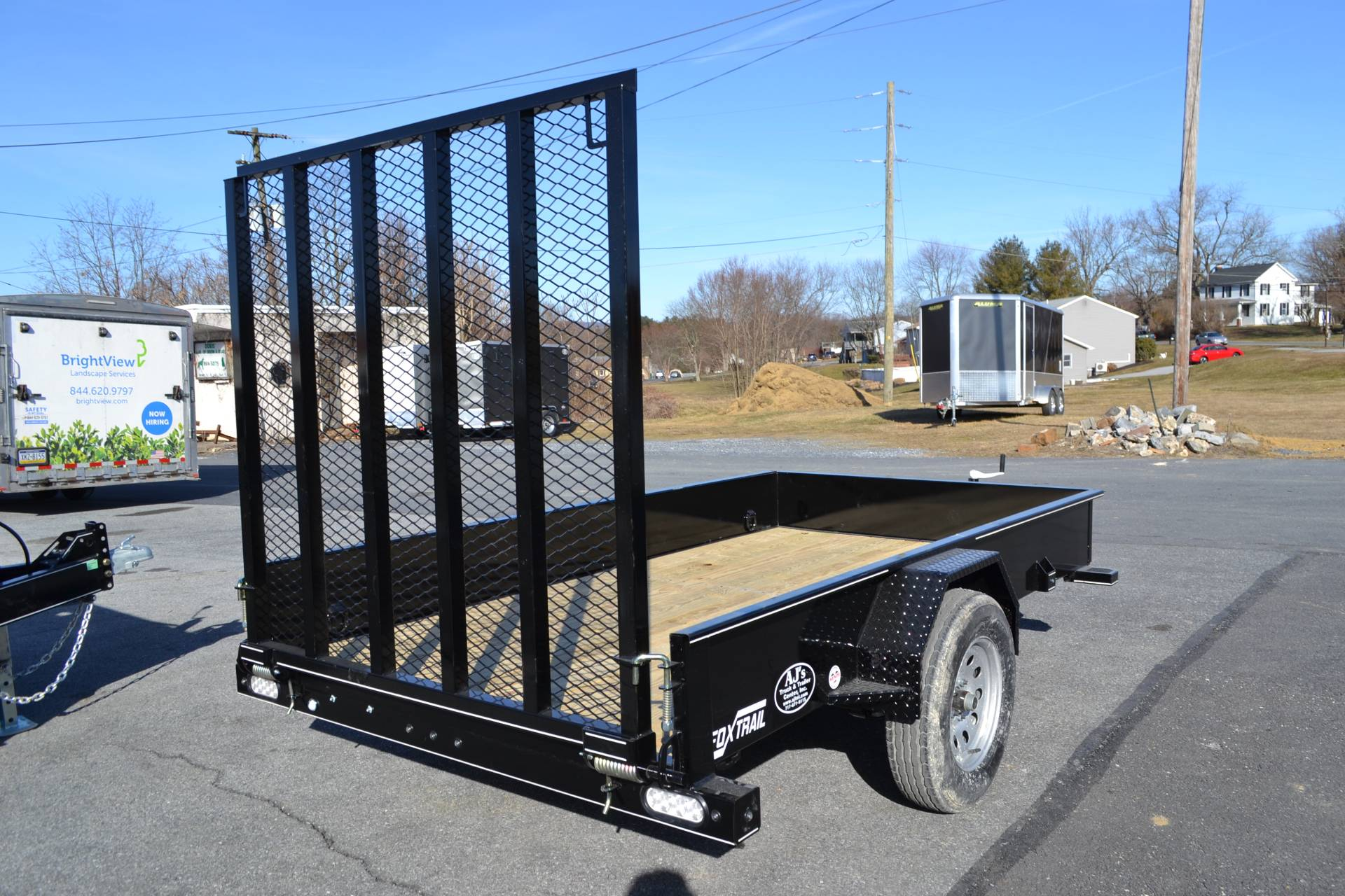 2021 Fox Trail 5.5x10 Utility Trailer SS in Harrisburg, Pennsylvania - Photo 10
