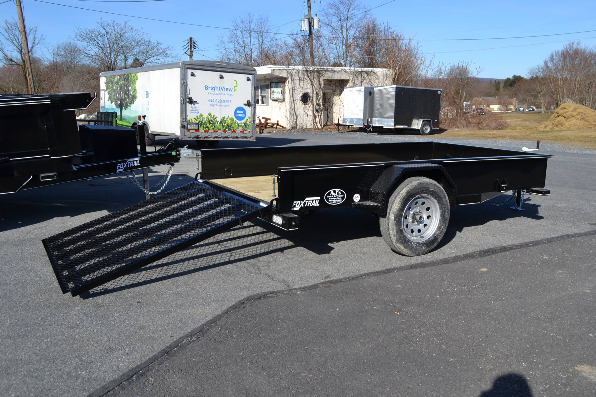 2021 Fox Trail 5.5x10 Utility Trailer SS in Harrisburg, Pennsylvania - Photo 16