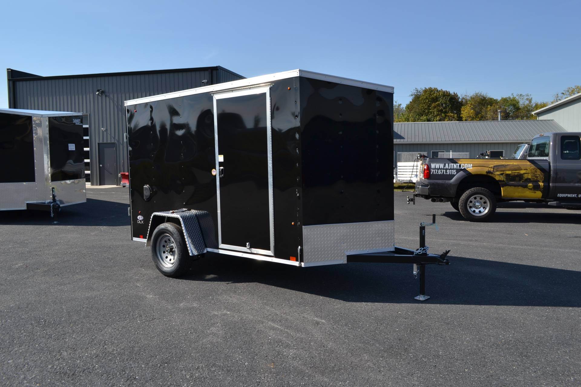 2022 Look Trailers 5X10 STDLX Cargo Trailer Ramp +6 in Harrisburg, Pennsylvania - Photo 2