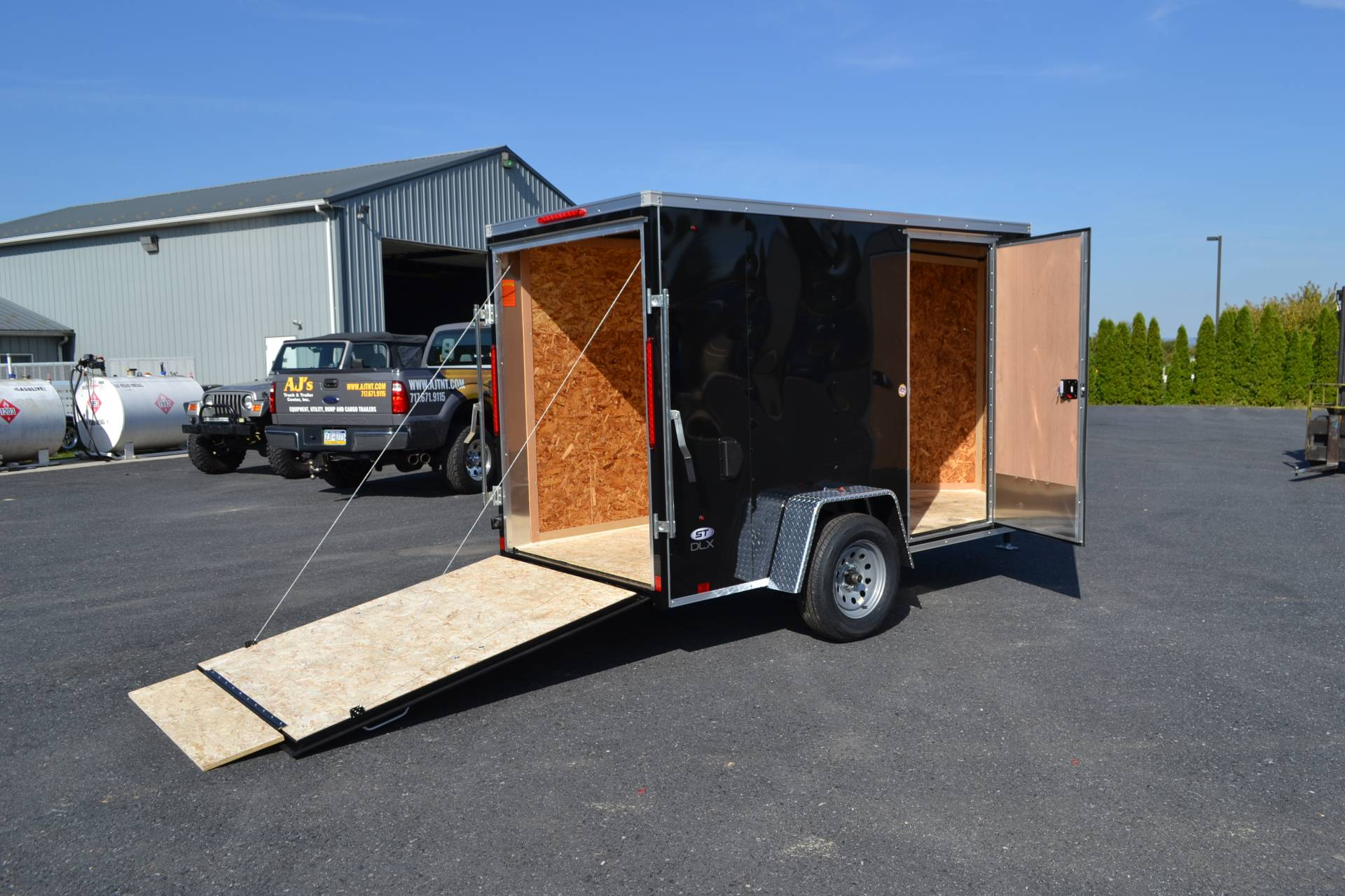 2022 Look Trailers 5X10 STDLX Cargo Trailer Ramp +6 in Harrisburg, Pennsylvania - Photo 9