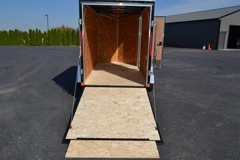 2022 Look Trailers 5X10 STDLX Cargo Trailer Ramp +6 in Harrisburg, Pennsylvania - Photo 10