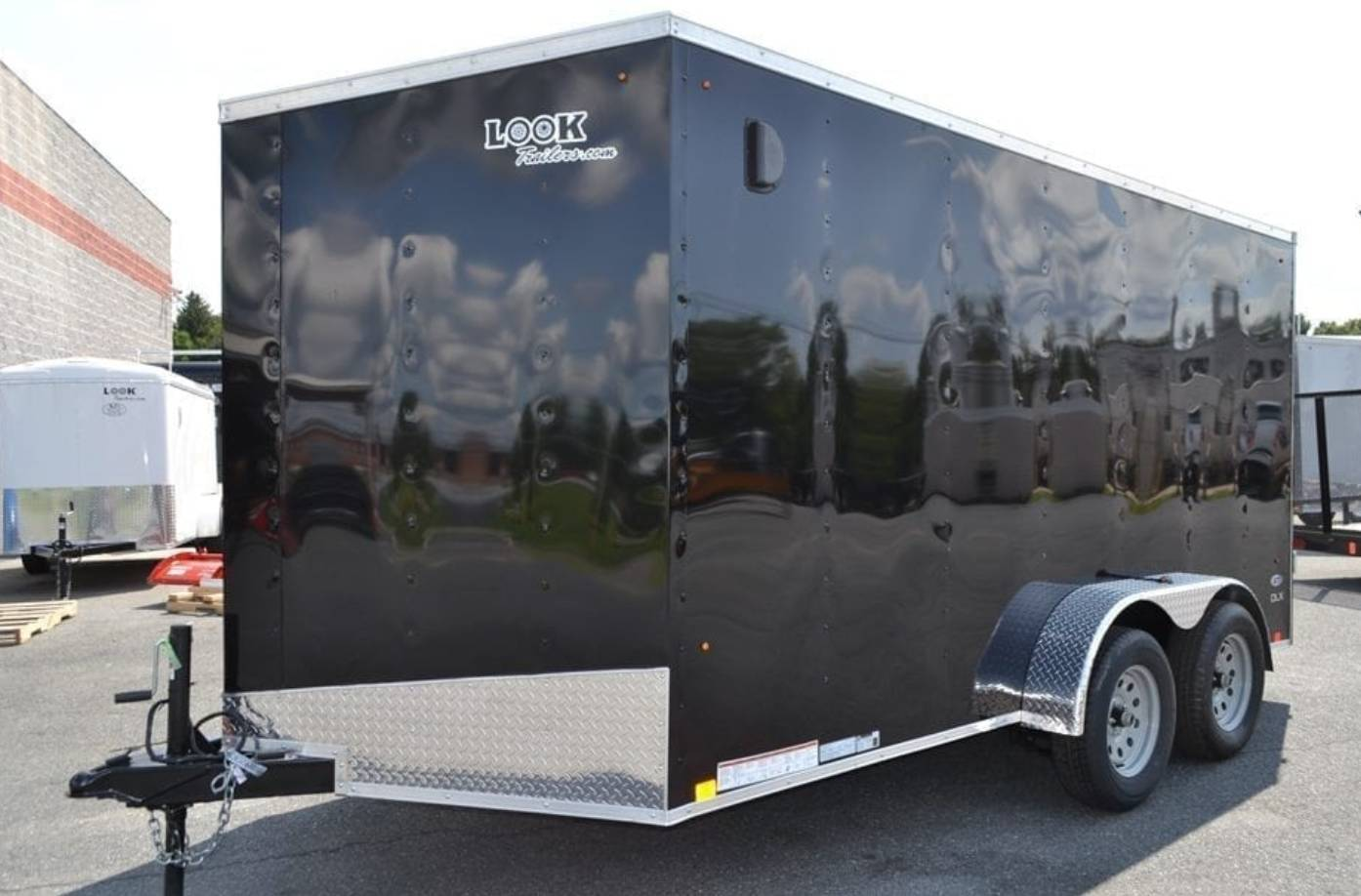 2020 Look Trailers 7X14 STDLX Cargo Trailer Double Door ET in Harrisburg, Pennsylvania - Photo 1