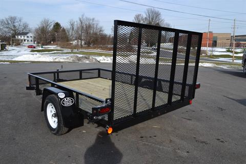 2021 Car Mate Trailers 6x12 Utility Trailer D-Rings Mesh in Harrisburg, Pennsylvania - Photo 5