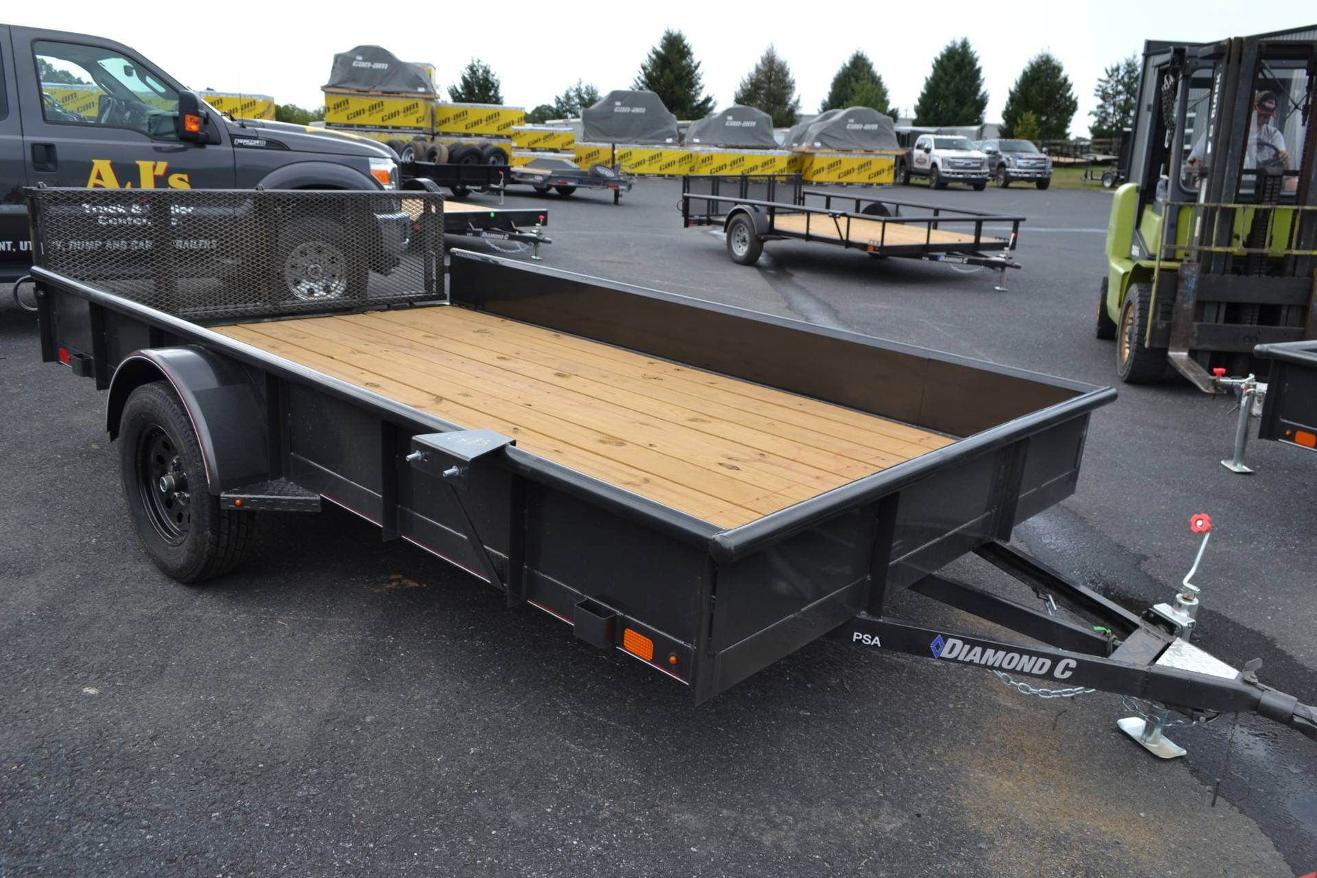 2020 Diamond C 12X83 PSA Utlility Trailer SS 3K in Harrisburg, Pennsylvania - Photo 3