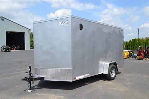 2020 Look Trailers 7X12 STDLX Cargo Trailer Double Door +6 in Harrisburg, Pennsylvania - Photo 1
