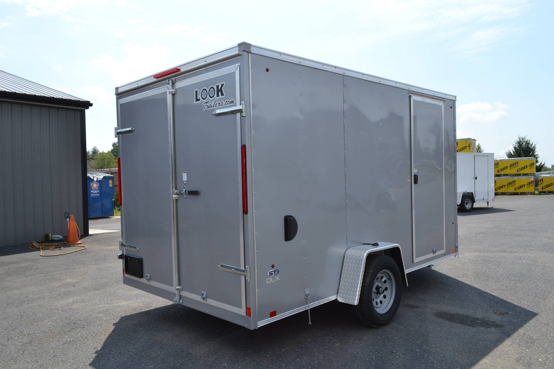 2020 Look Trailers 7X12 STDLX Cargo Trailer Double Door +6 in Harrisburg, Pennsylvania - Photo 6
